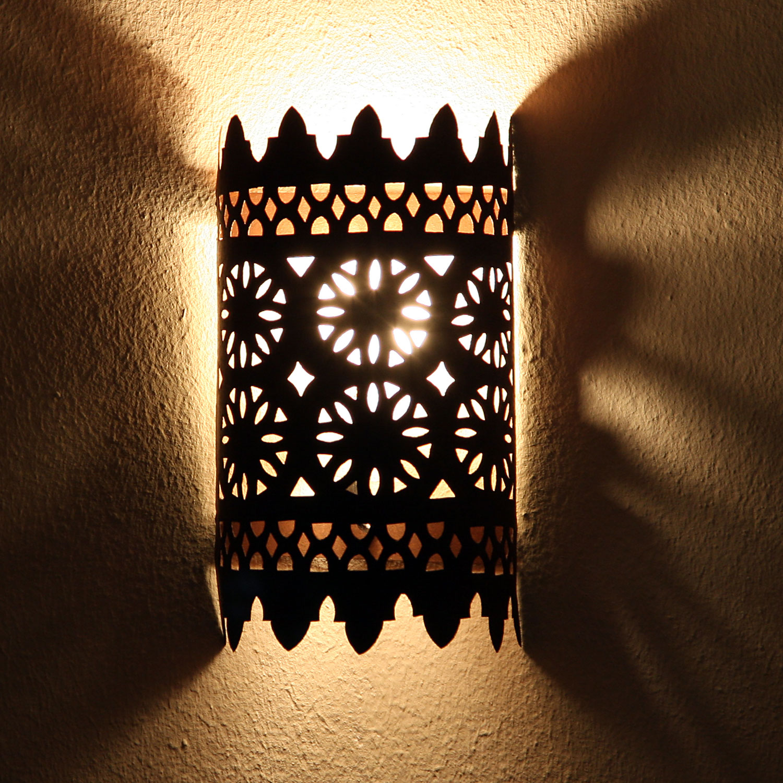 Orientalische eisen wandlampe ewl17 bei ihrem orient - Orientalische wandlampe ...