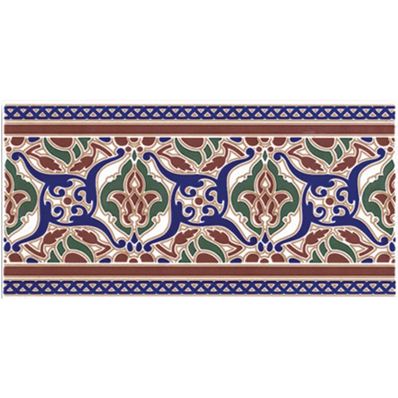 Marokkanische Fliesen-Bordüre Layali | bei Ihrem Orient Shop Casa-Moro