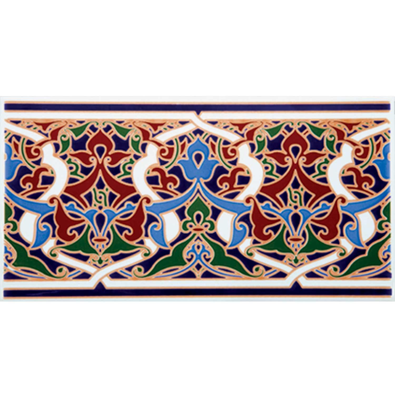 marokkanische fliesen bordre alhambra - Fliesen Bordren