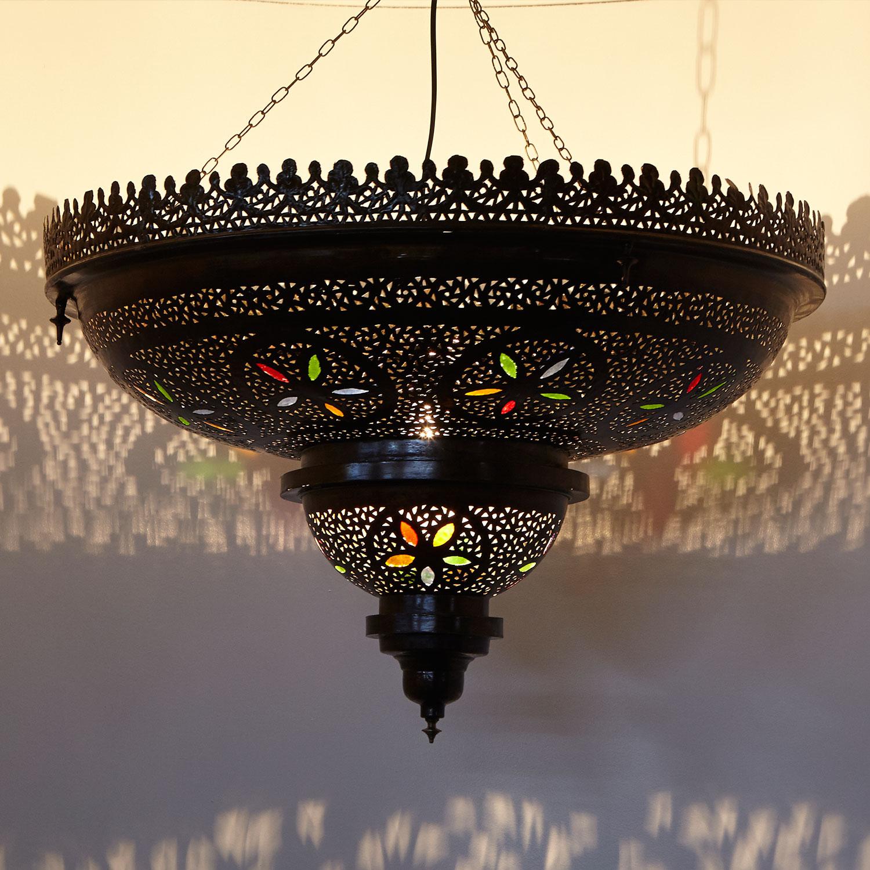 Orient h ngeleuchte budur bei ihrem orient shop casa moro - Marokkanische bodenfliesen ...