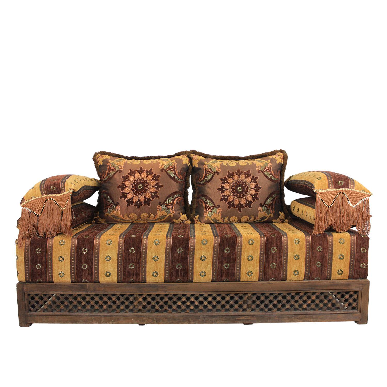 orientalisches sofa samira bei ihrem orient shop casa moro. Black Bedroom Furniture Sets. Home Design Ideas