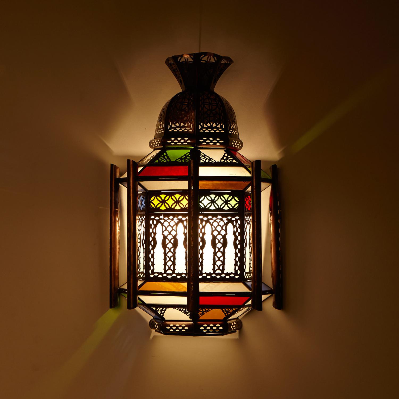 Orientalische wandlampe imad bei ihrem orient shop casa moro - Orientalische wandlampe ...