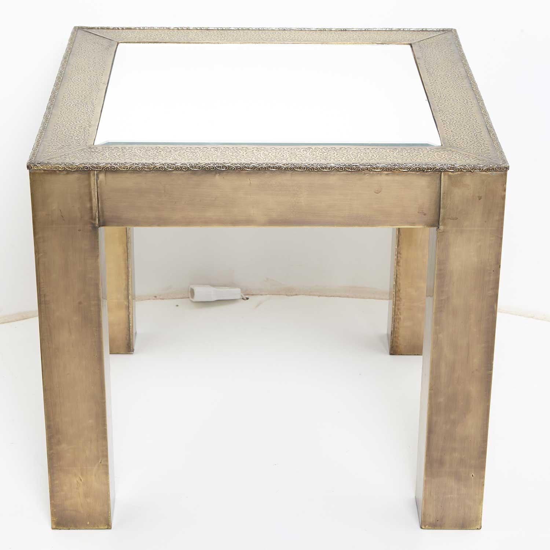 orientalischer messing tisch sultana bei ihrem orient shop casa moro. Black Bedroom Furniture Sets. Home Design Ideas