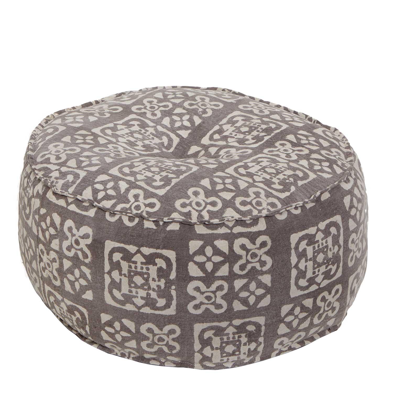 Orientalisches sitzkissen mar81 indien kissen indisch rund for Sofa indisch