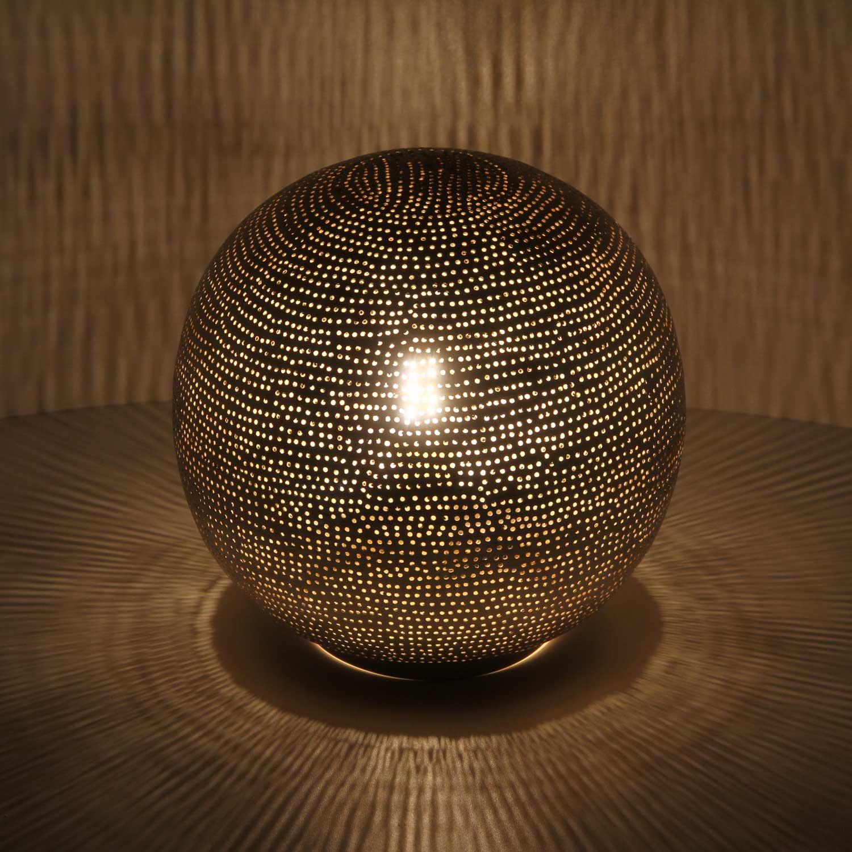 silber stehlampe buhaira d22 bei ihrem orient shop casa moro. Black Bedroom Furniture Sets. Home Design Ideas