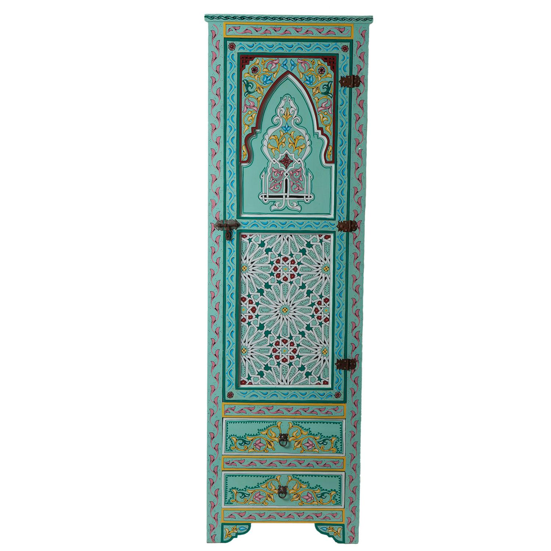 marokkanischer holz schrank jamal bei ihrem orient shop casa moro. Black Bedroom Furniture Sets. Home Design Ideas