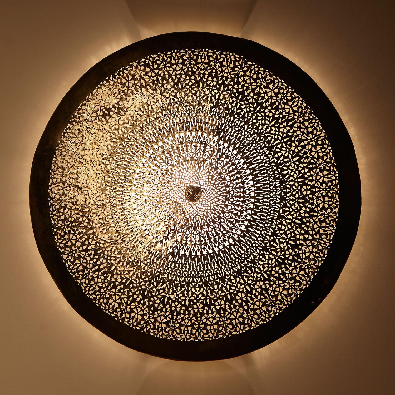 Messing wandlampe gharam bei ihrem orient shop casa moro - Orientalische wandlampe ...