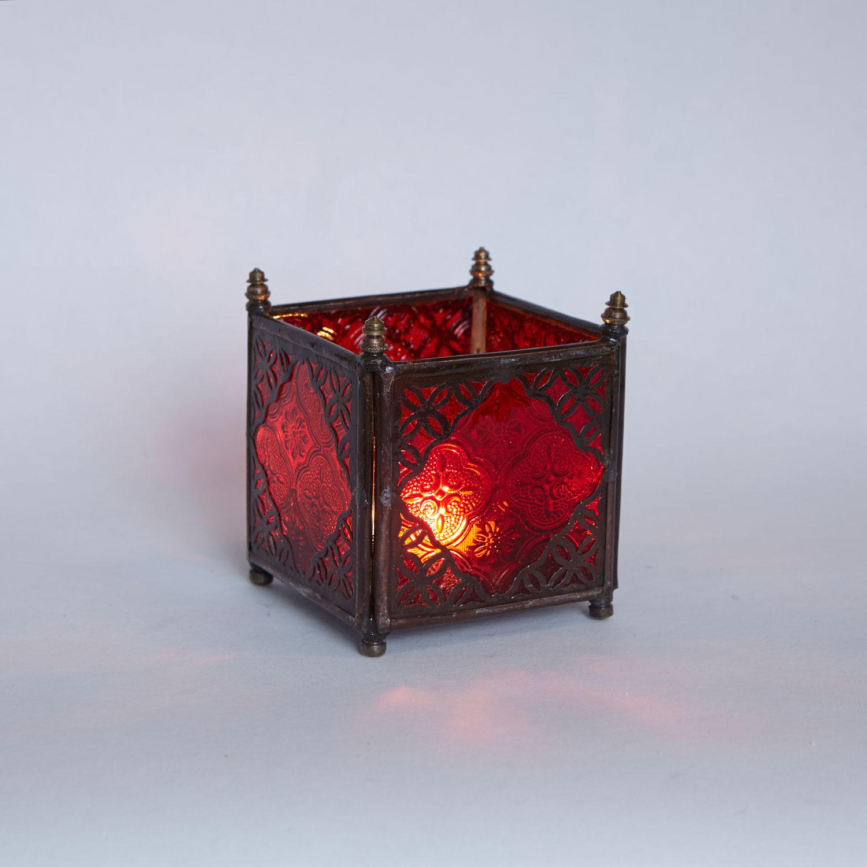 orient glas windlicht rot bei ihrem orient shop casa moro. Black Bedroom Furniture Sets. Home Design Ideas