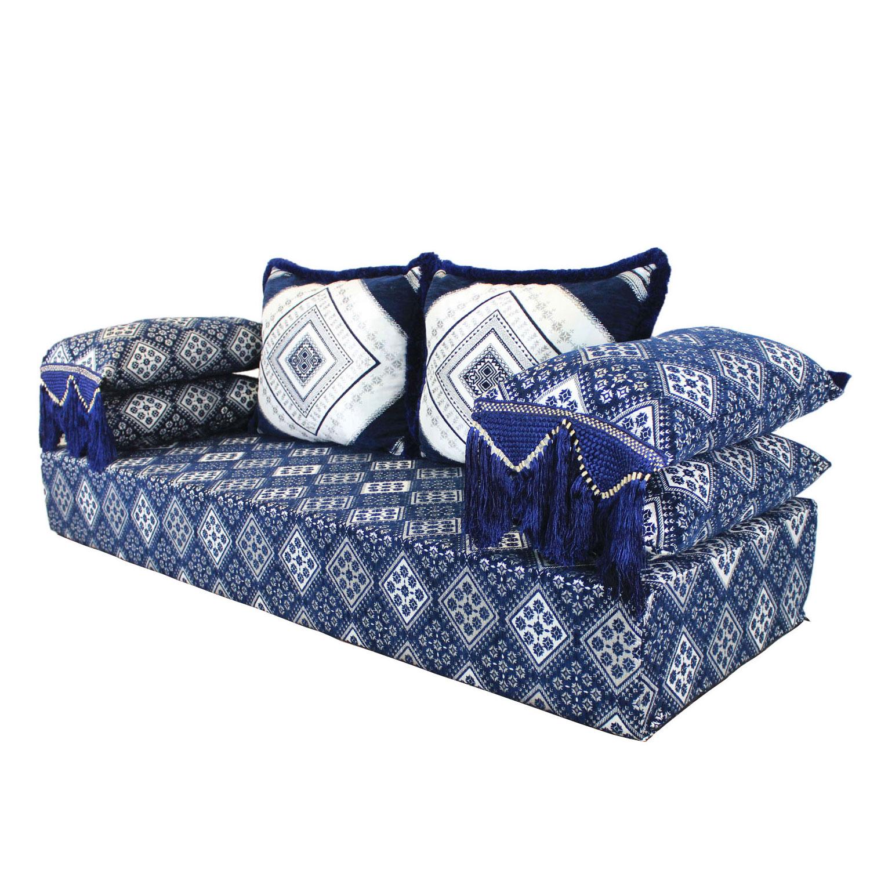 orientalisches sofa amina ohne gestell bei ihrem orient shop casa moro. Black Bedroom Furniture Sets. Home Design Ideas