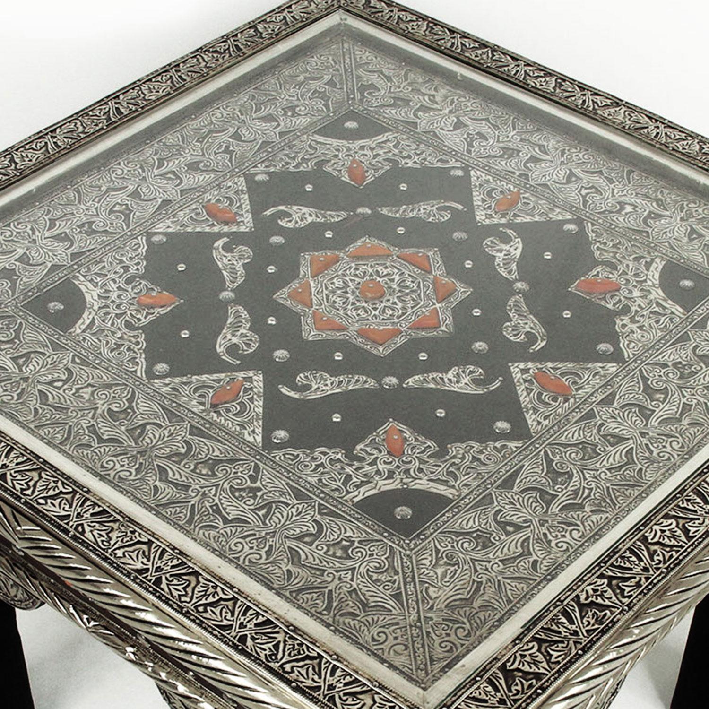 orientalischer tisch feena 60 60 bei ihrem orient shop casa moro. Black Bedroom Furniture Sets. Home Design Ideas