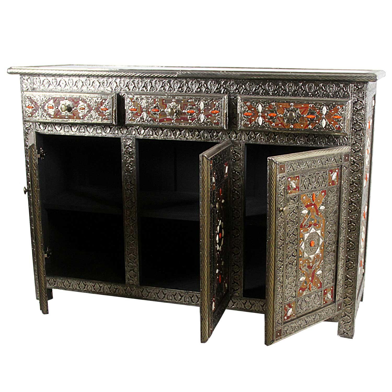 marokkanische kommode malika bei ihrem orient shop casa moro. Black Bedroom Furniture Sets. Home Design Ideas
