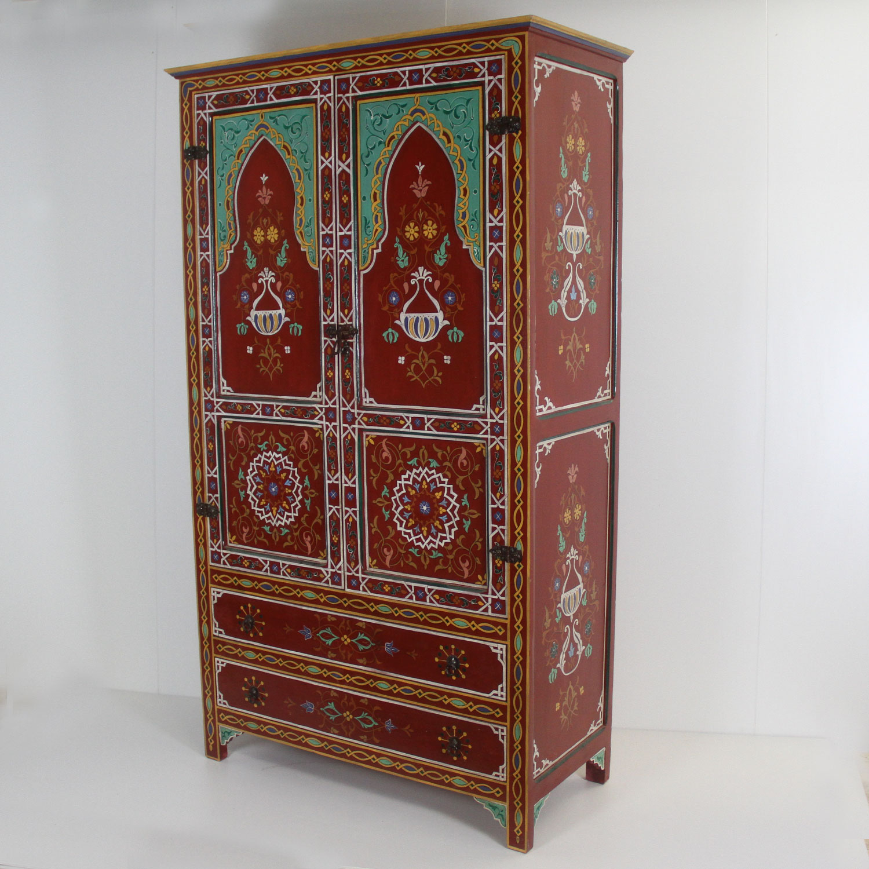 Marokkanischer Holzschrank Bahar | bei Ihrem Orient Shop Casa-Moro