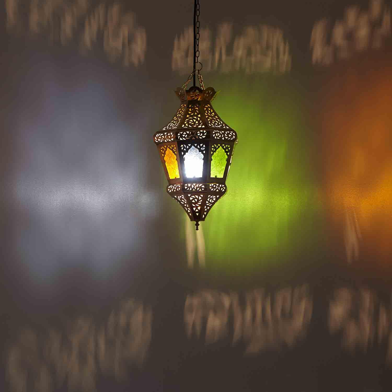 Messinglampe schela bei ihrem orient shop casa moro for Orientalische messinglampe