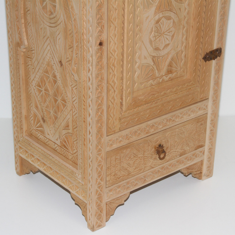 marokkanischer holzschrank arzu bei ihrem orient shop. Black Bedroom Furniture Sets. Home Design Ideas