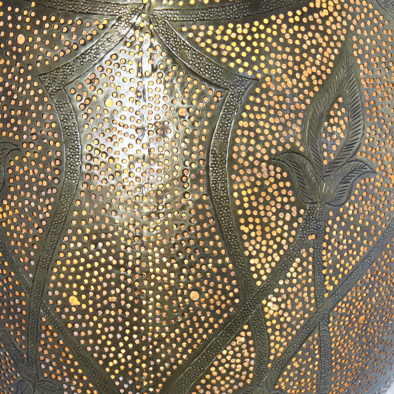 Orientalische lampe afifa bei ihrem orient shop casa moro for Orientalische messinglampe