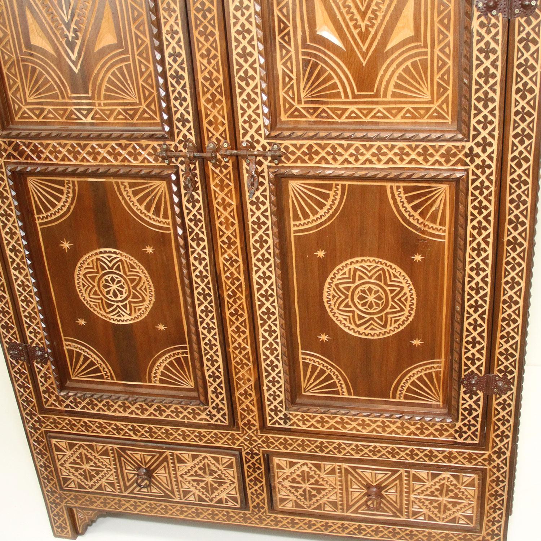 Orientalischer Schrank Ehab | bei Ihrem Orient Shop Casa-Moro
