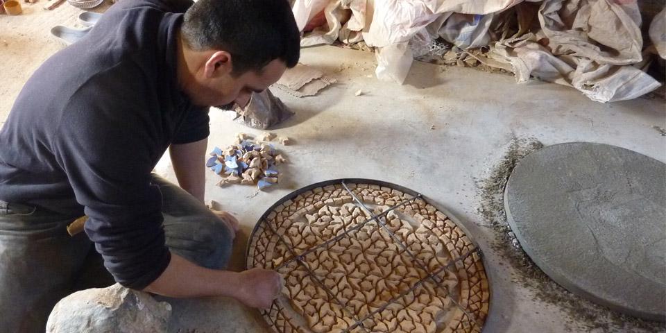 Marokkanische Mosaiktische