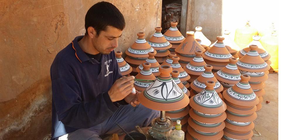 direkt aus Marrakesch